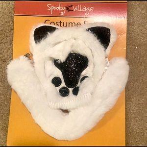 White Fur Polar Bear or Snow Kitty Costume